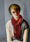 Kisling-portret-mlodej-dziewczyny