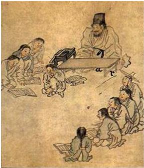 Trad korean classroom