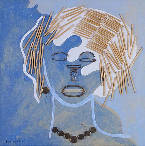 Picabia eyes closed